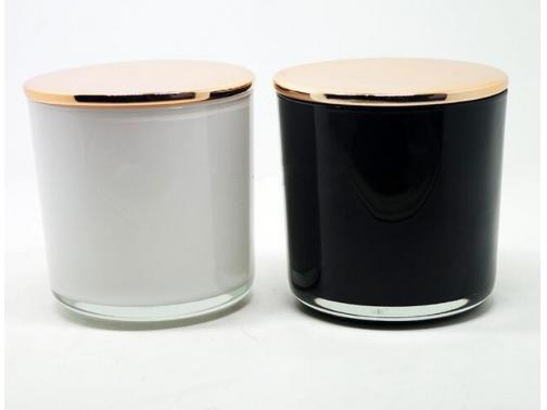 Electroplating Glass Candle Jars