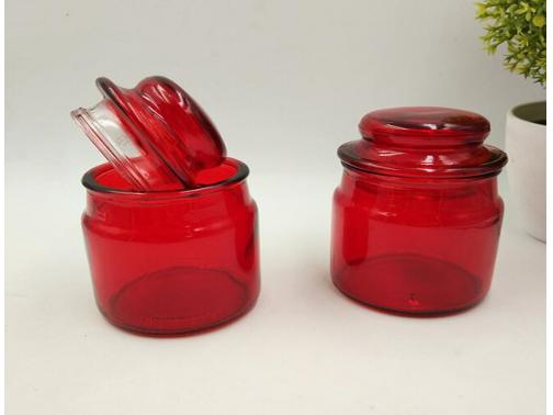 Recycled Glass Candle Jars